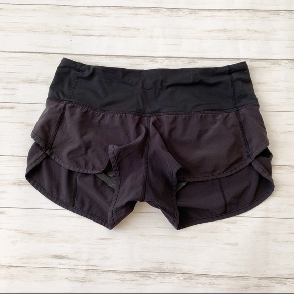 lululemon athletica Pants - Lululemon Athletic Running Speed Short Black 4